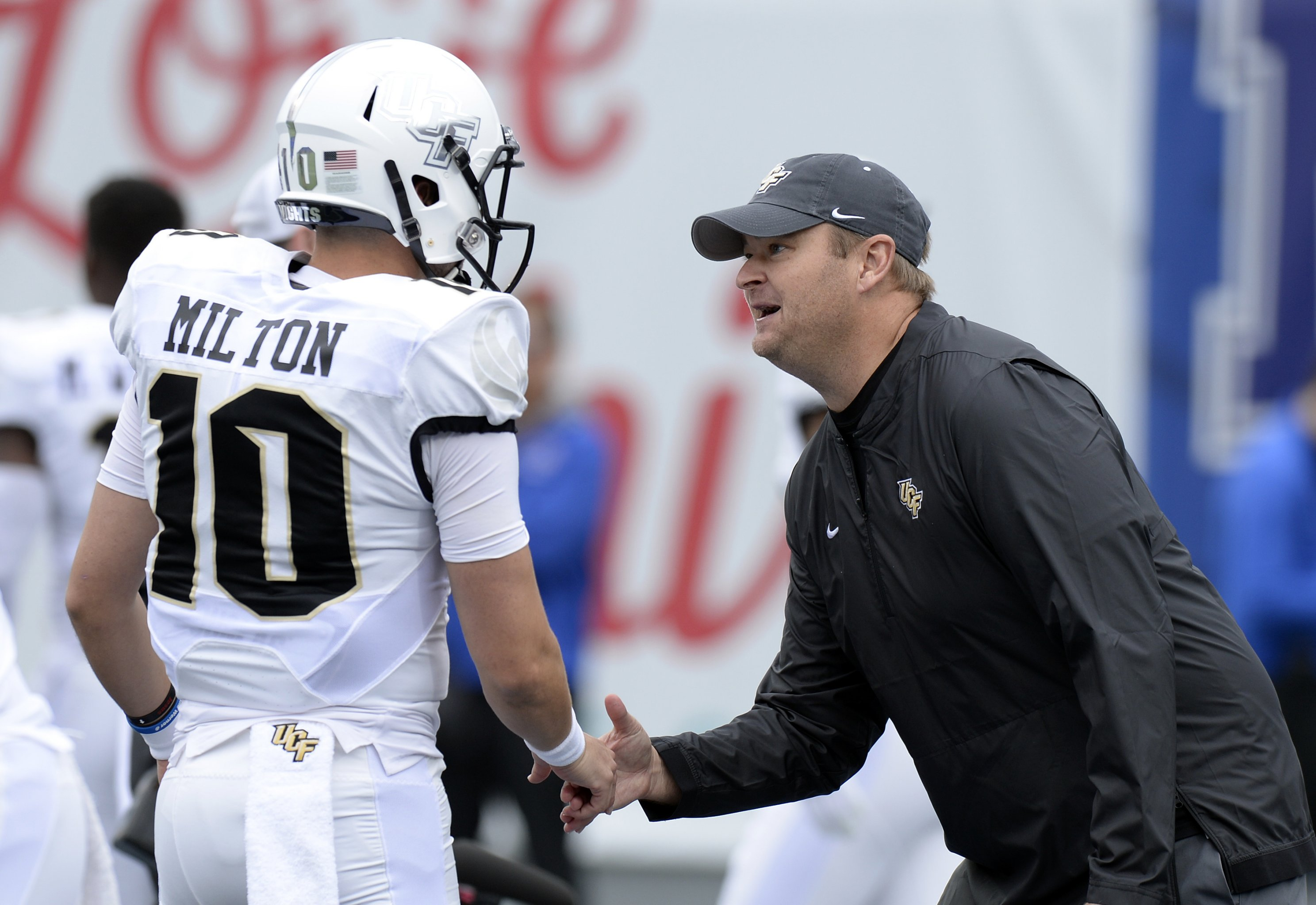 the latest 0f57b 3d95a UCF QB McKenzie Milton Goes Off on Notre Dame: 'Can't Tell ...