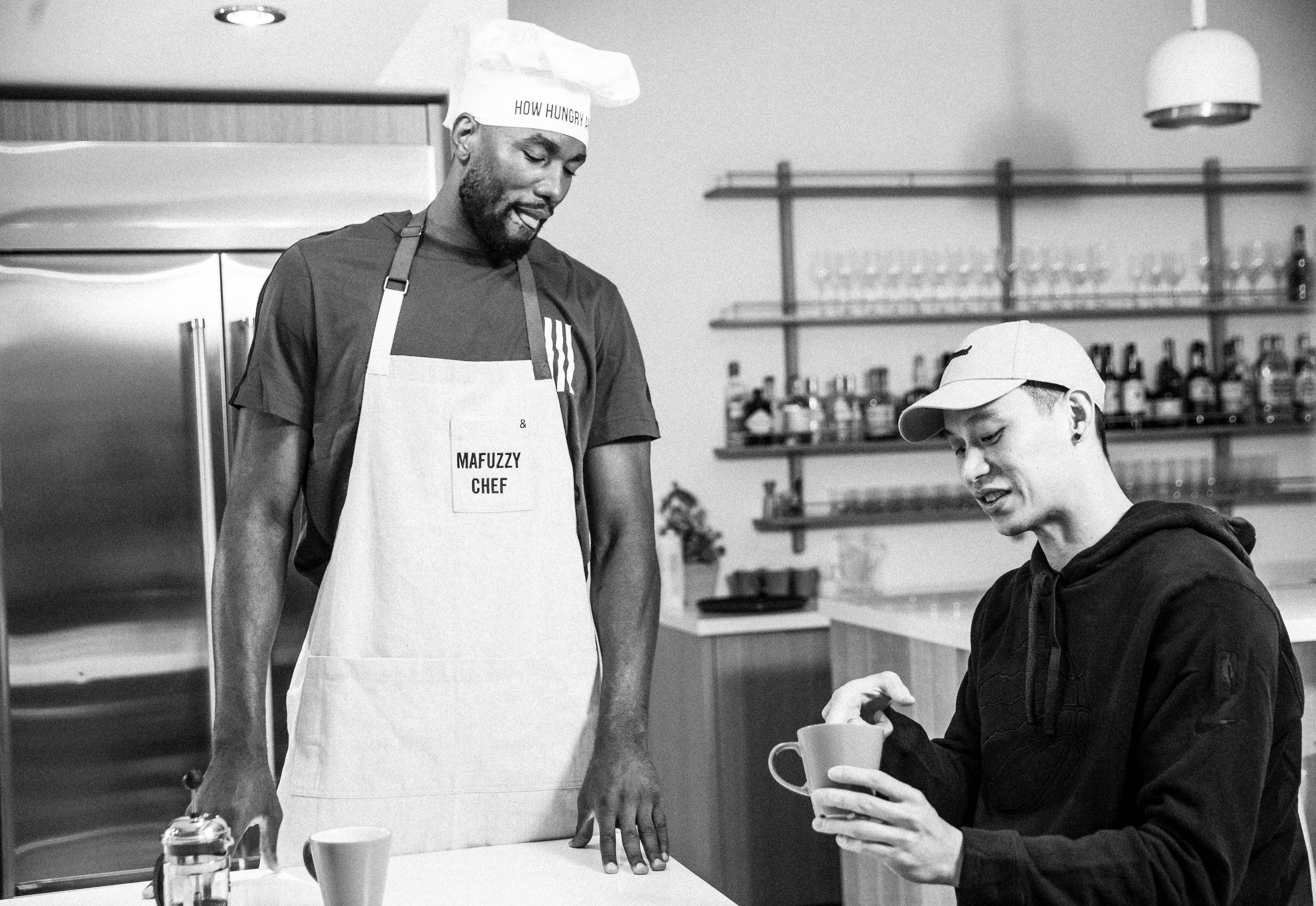 Serge Ibaka Is Cooking Up Something Good | Bleacher Report