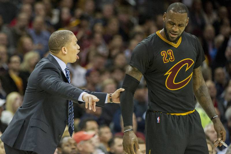 Tyronn Lue's willingness to challenge LeBron James not only helped push both to the 2016 title, but also won James' respect.
