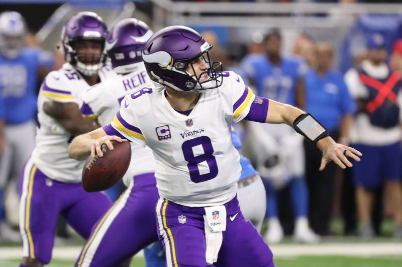 Kirk Cousins guided the Vikings to an 8-7-1 record after signing an $84 million deal with the team last offseason.