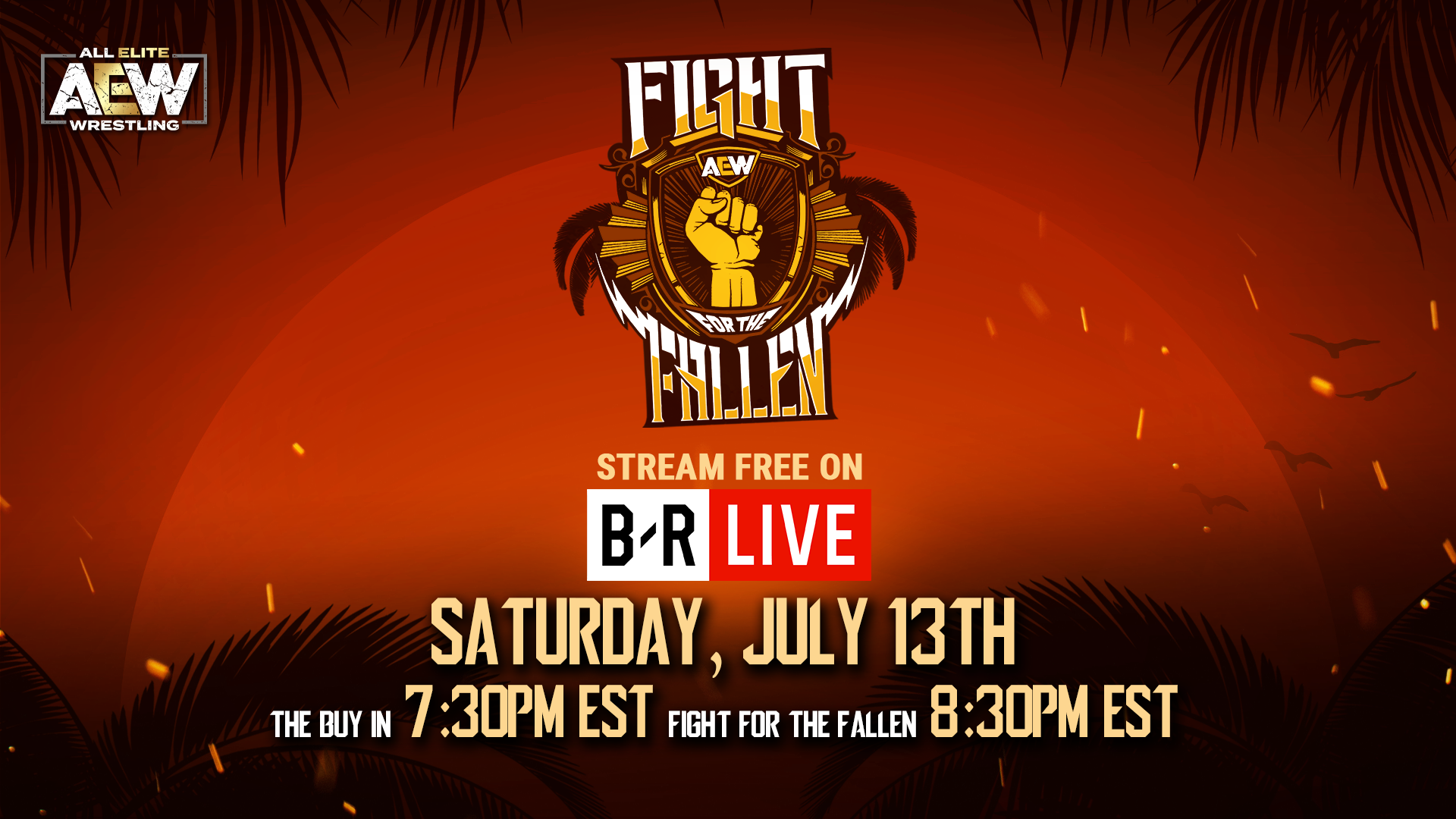 Full Preview and Updated AEW Fight for the Fallen Match Card