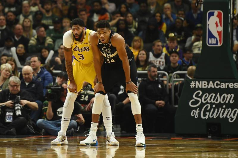 If the Lakers give Anthony Davis and LeBron max deals, will there be enough cap space for a realistic run at Giannis Antetokounmpo?