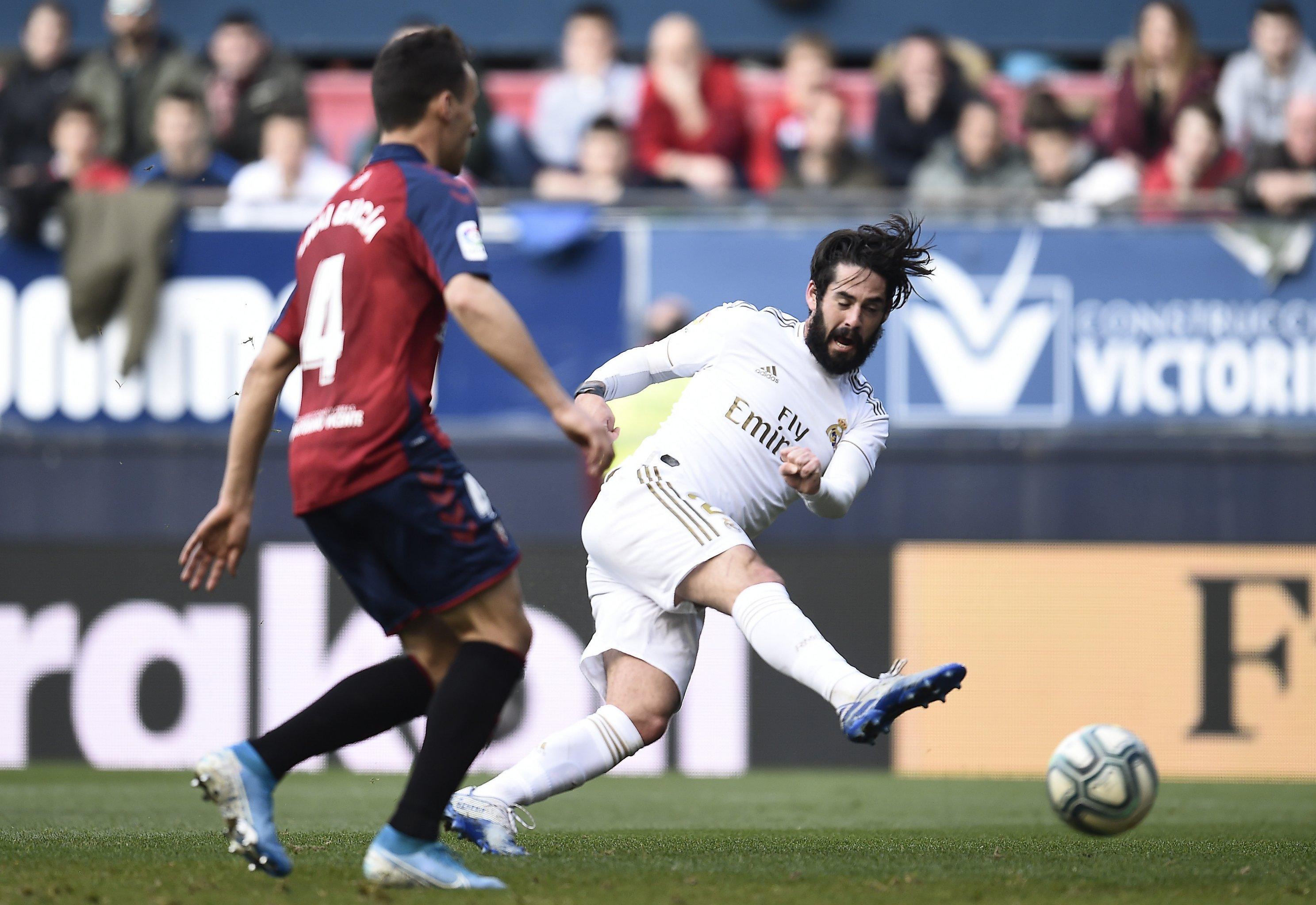 Real Madrid Overcome Early Deficit Cruise To 4 1 La Liga Win Vs