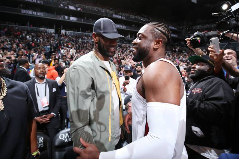 There is precedent for LeBron James taking a pay cut to play with another superstar, as he did with Dwyane Wade and Chris Bosh in Miami.