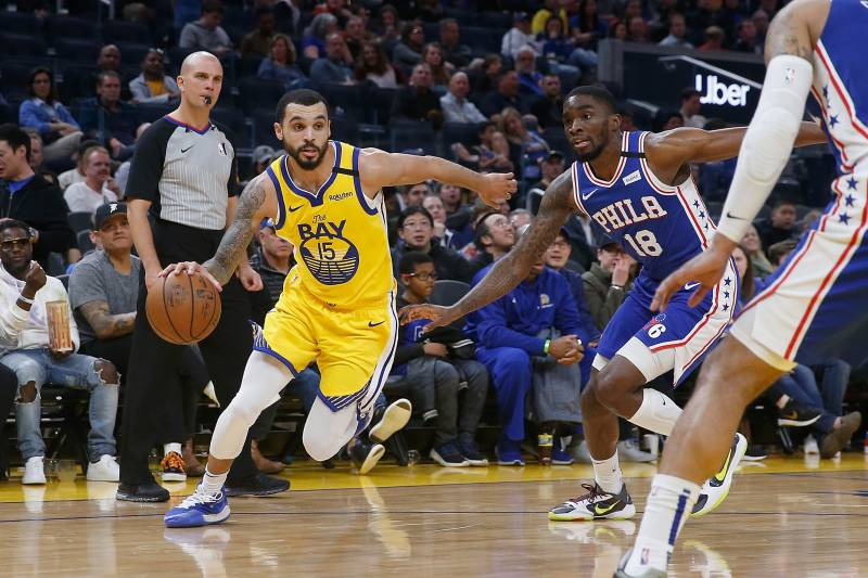 After signing a deal to finish out the regular season with the Warriors, Mychal Mulder may see little of the $9,700 per game he was due to receive after the league decided to suspend games indefinitely.