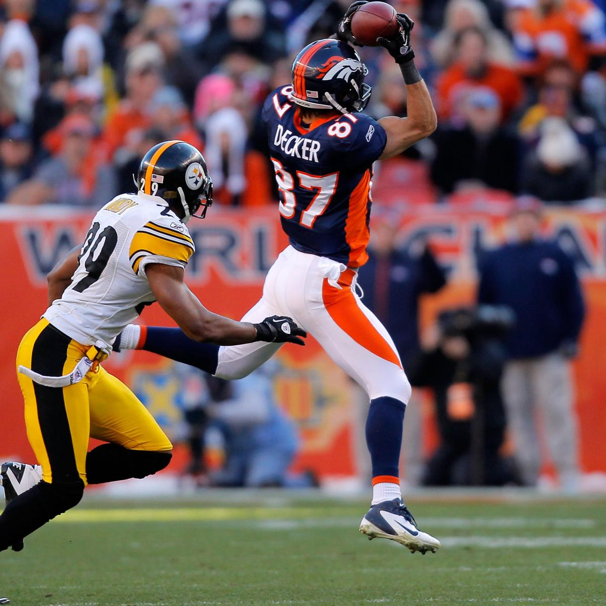 Eric Decker Injury: Denver Broncos WR Officially Out For