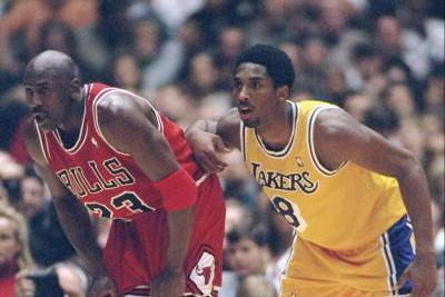 the best attitude b27bb a4c93 Kobe Bryant vs. Michael Jordan