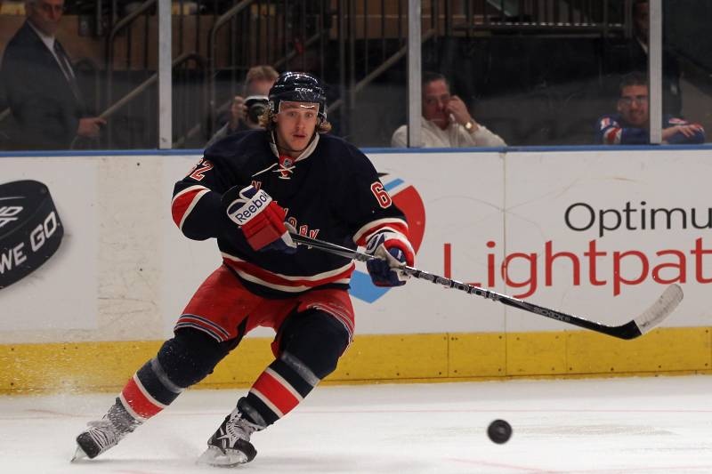 best service 2666d 317d1 New York Rangers' Carl Hagelin Named to Rookie All-Star Game ...