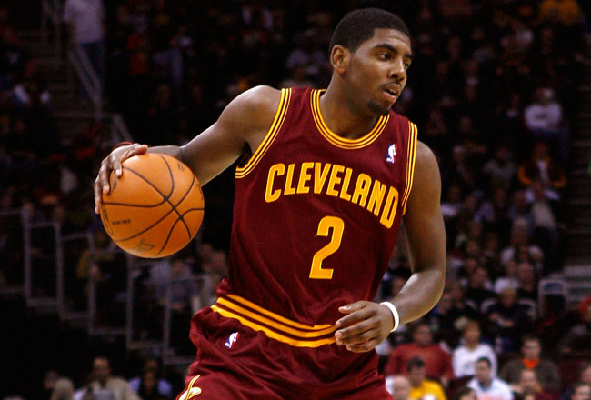 Nba Basketball Kyrie Irving And 4 Rookie Guards To Build