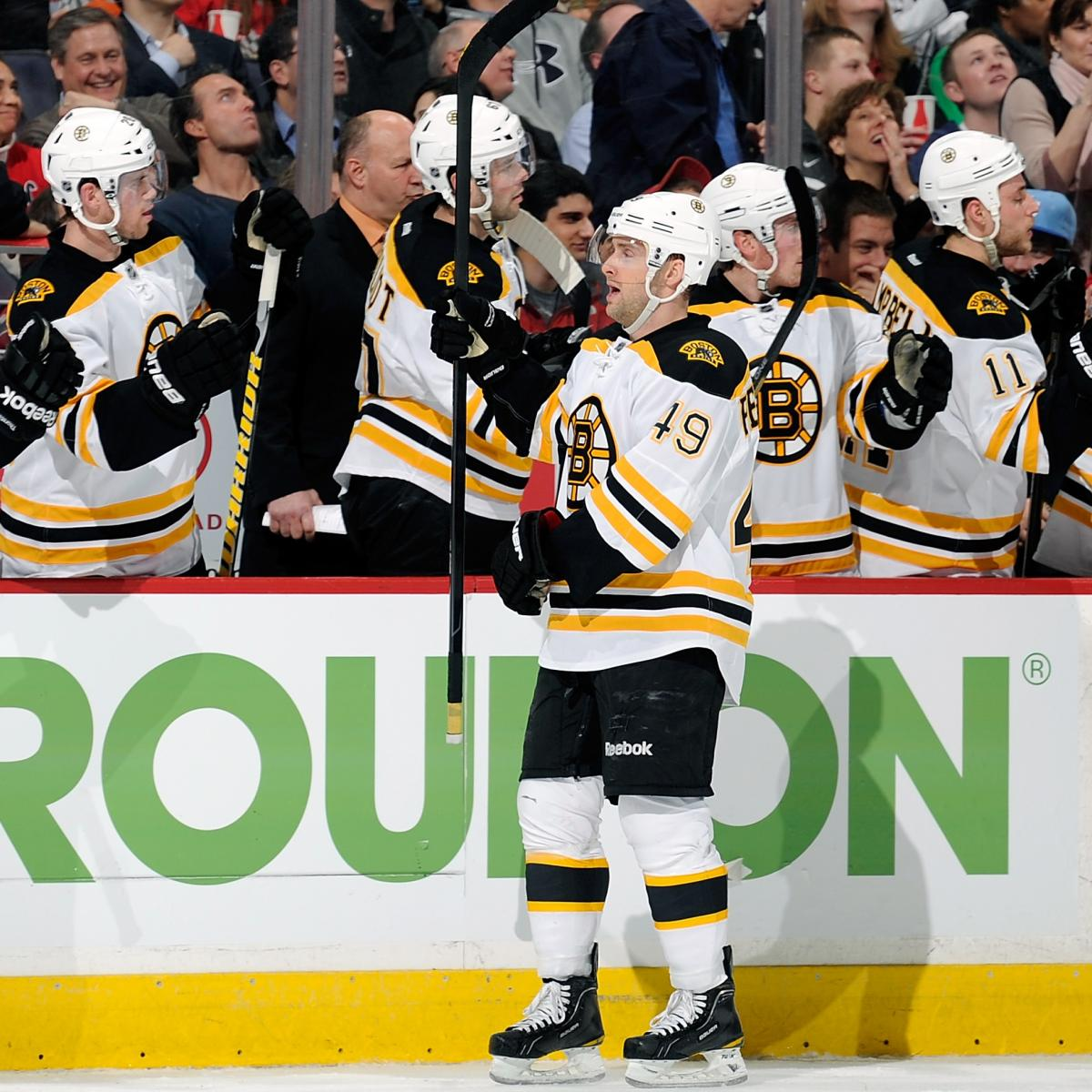 Boston Bruins: Why Rich Peverley Is The Right Replacement