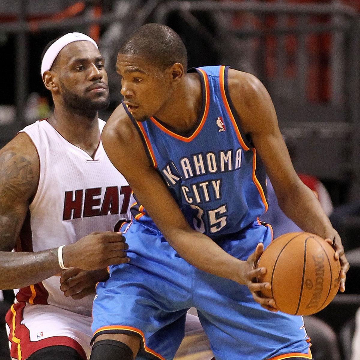 e223d20cad4e Kevin Durant vs. LeBron James  Contrasting Styles of NBA Superstardom