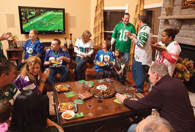 Top 10 Things To Eat At A Super Bowl Party Bleacher