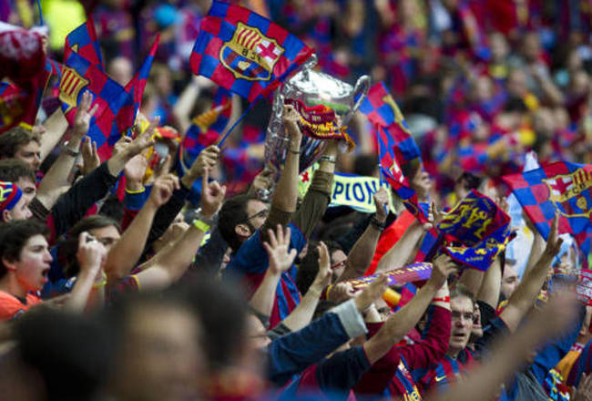 Fc Barcelona Barca Fans Top 10 Chants At Camp Nou Bleacher Report Latest News Videos And Highlights