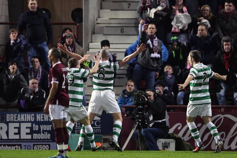 Celtic vs  Hearts: Celtic Coast to 4-0 Win After Goal Denied