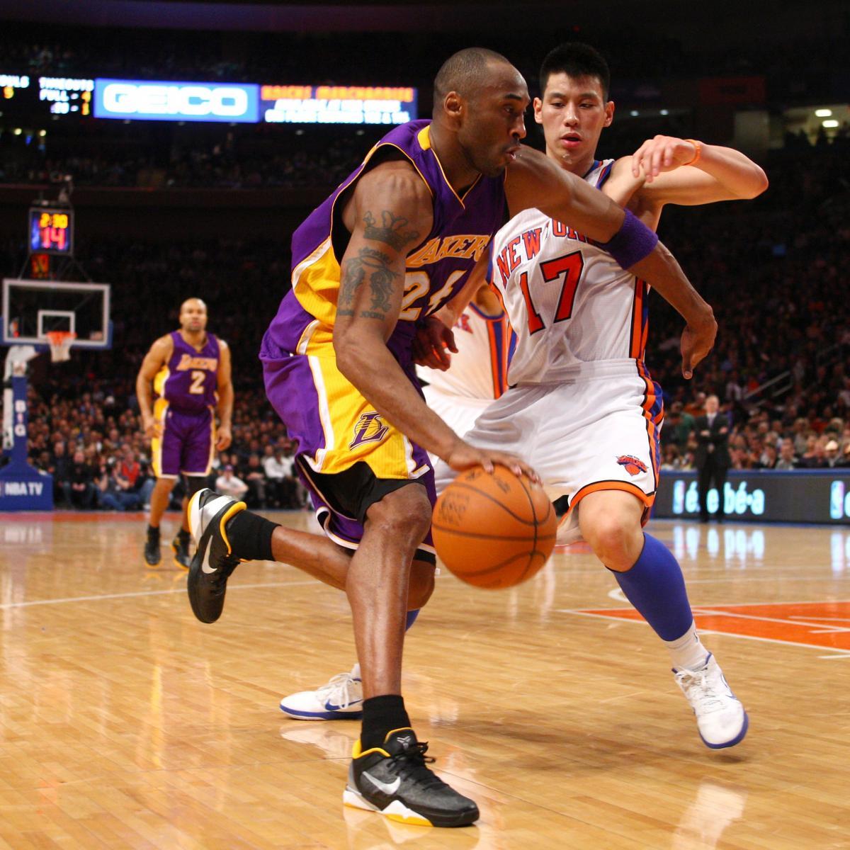 Jeremy Lin: Kobe Bryant Takes Notice of Linsanity After