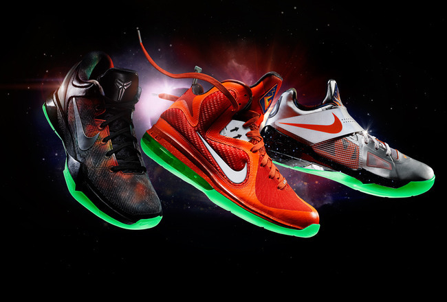 sports shoes ba966 78b09 NBA All-Star Game 2012  Grading Every Pair of 2012 All-Star Kicks    Bleacher Report   Latest News, Videos and Highlights