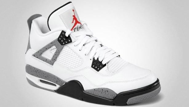 8f36573fc51 New Air Jordan 4 Retro 'White/Cement' Shoes   Bleacher Report   Latest  News, Videos and Highlights