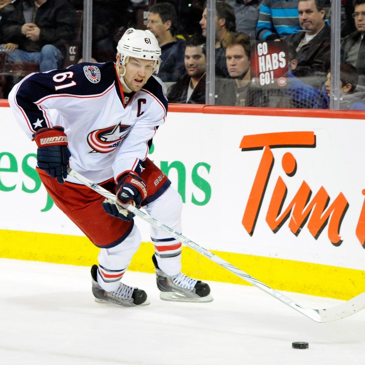 Report: Leafs GM Brian Burke Talks With Blue Jackets GM