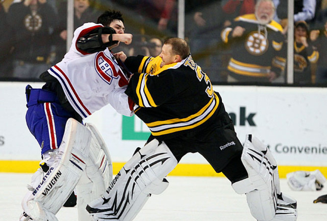 The 20 Best Goalie Fights In Nhl History Bleacher Report Latest