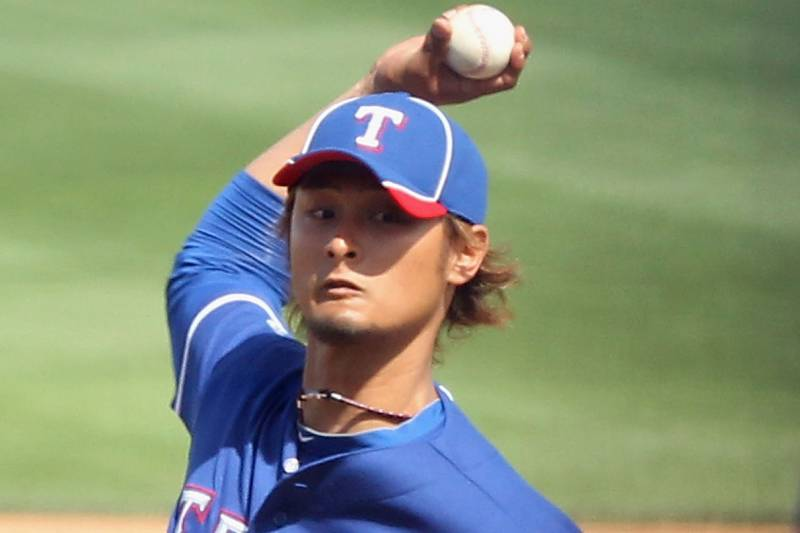 c079e5b22 Yu Darvish Debut  Full Analysis and Grades of Rangers Ace s First ...