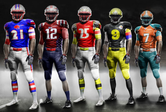 7350cea7 Suggesting 1 Upgrade for Each NFL Team's Uniform | Bleacher Report | Latest  News, Videos and Highlights