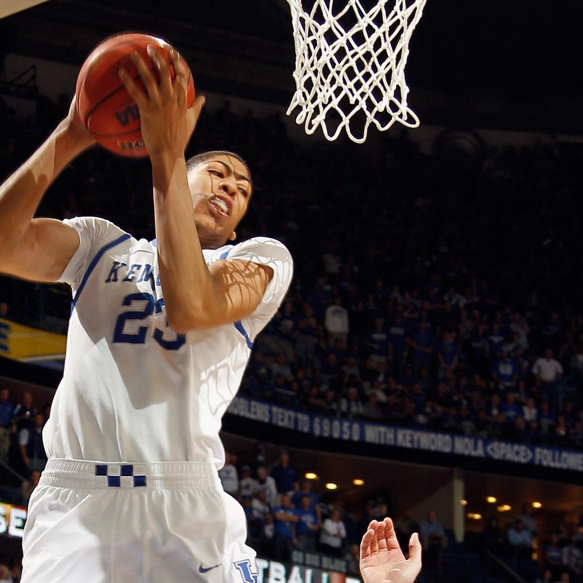 Anthony Davis: How NCAA Tournament Will Determine NBA ...  Anthony Davis: ...