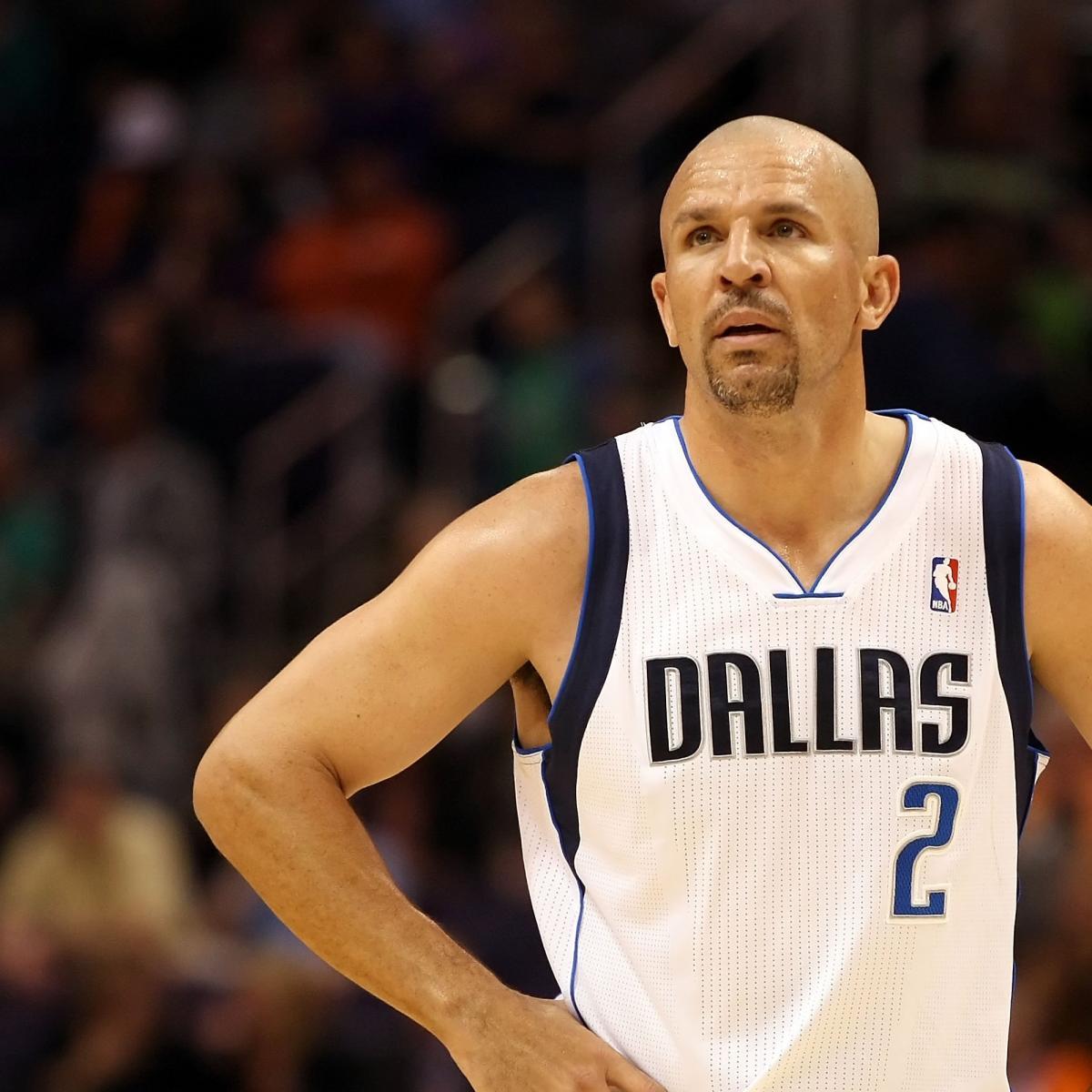 Jason Kidd Dallas Mavericks Veteran Showing No Signs Of