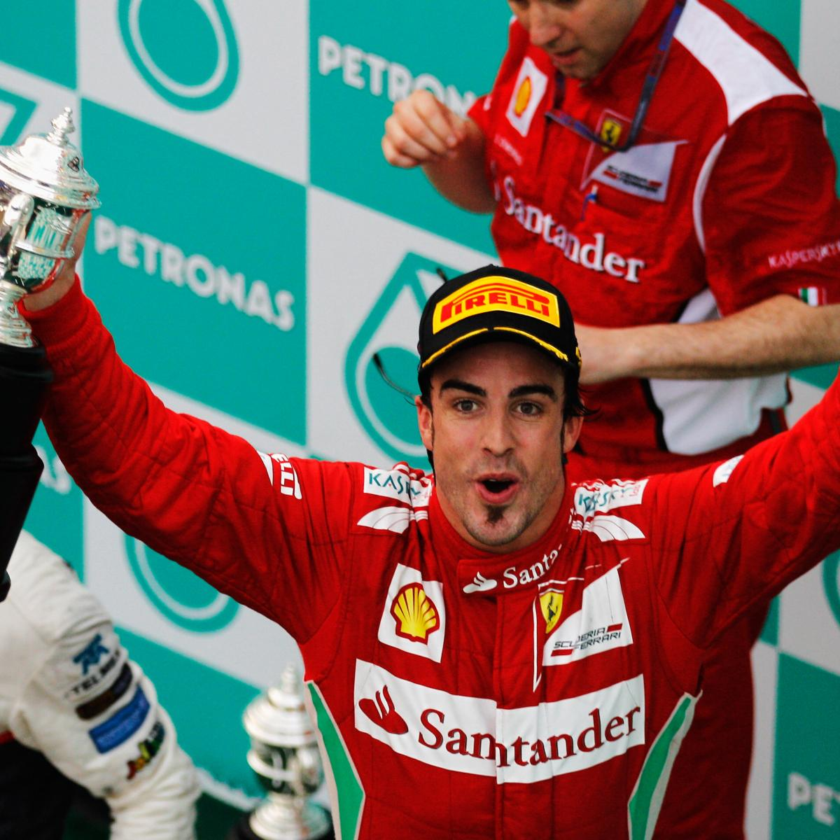 2012 Malaysian Grand Prix Winners And Losers
