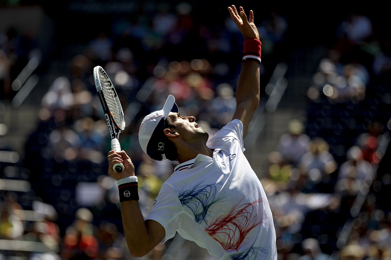 Novak Djokovic The Serb S Kicker Of A Serve Bleacher Report Latest News Videos And Highlights