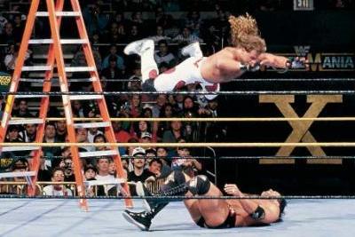 Watch WWE Best WrestleMania Ladder Match