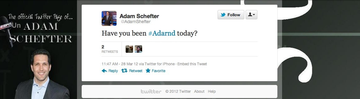 Fake Adam Schefter Tweets Offer Valuable Lessons About