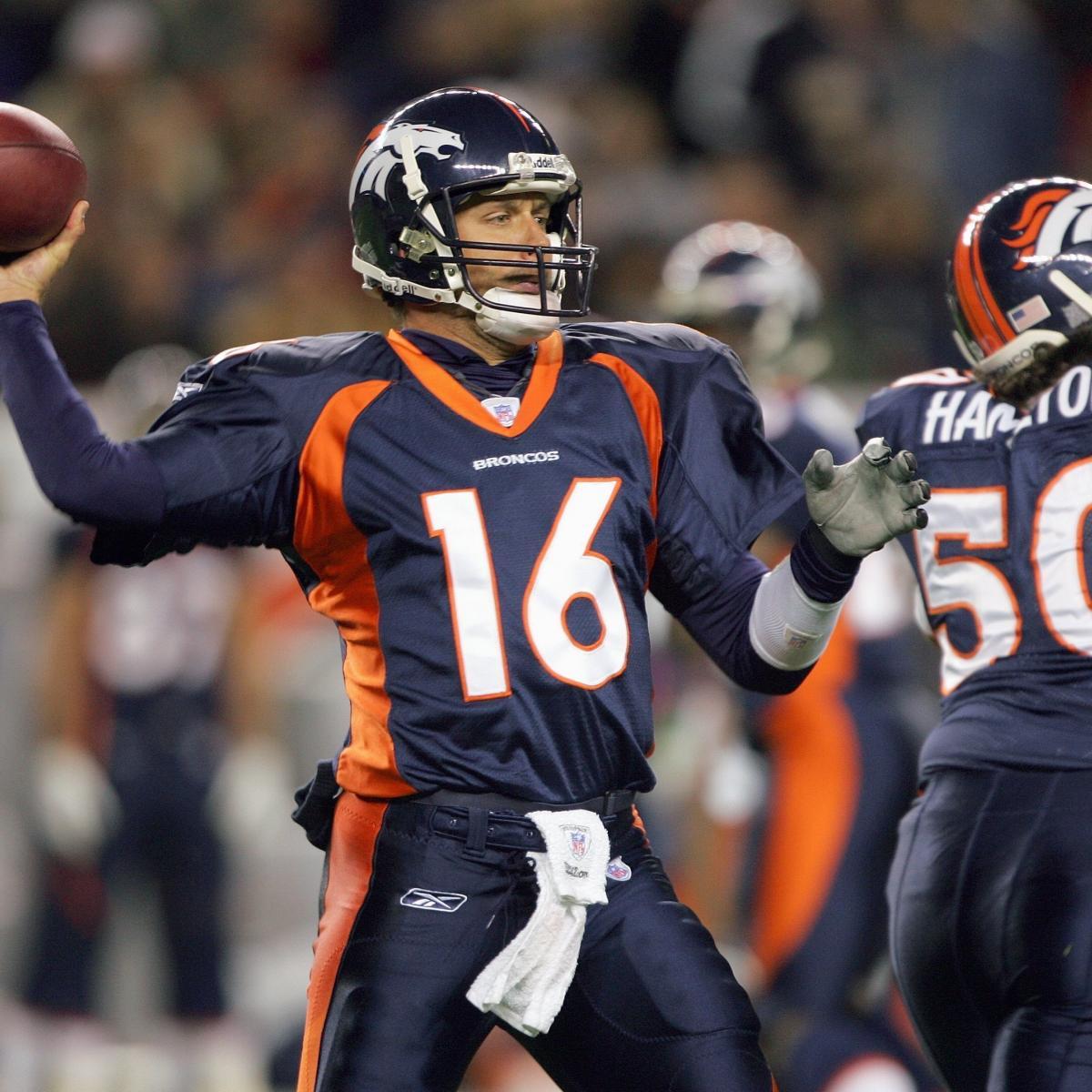 Denver Broncos: Jake Plummer Should Back Up Peyton Manning