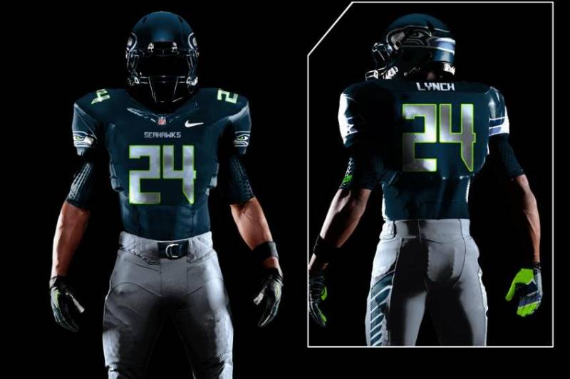 the latest c68fb e96a2 Seattle Seahawks New Uniforms to Be Unveiled...or Perhaps Re ...