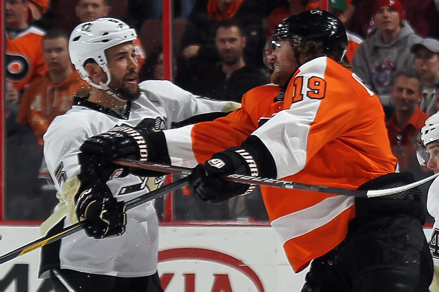 a2ed1bc40 Pens-Flyers Fight  Milbury s Comments on Crosby
