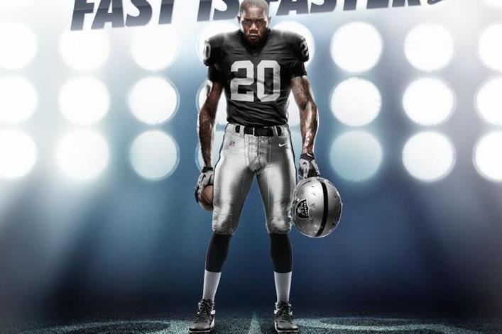 Oakland Raiders NFL Uniforms  Grading New Home 2012 Jerseys ... 341cefebcf6