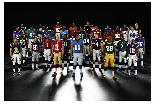 fbb750300f1 Nike NFL Uniforms  Grades