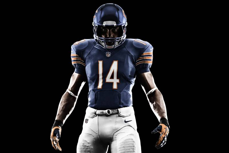 d8b63068107 Nike Unveils New Chicago Bears Uniforms, Monsters of the Midway Look ...