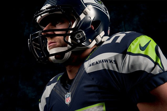 b1260aa5c Seahawks New Uniforms: Seattle's Nike Makeover Foreshadows Future NFL Uni  Change