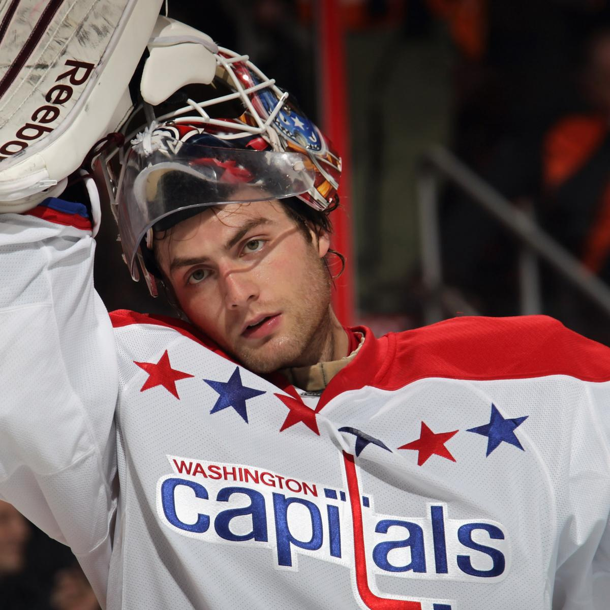 Nhl Playoffs 2012 Braden Holtby Is The Washington Capitals Perfect Goalie Bleacher Report Latest News Videos And Highlights
