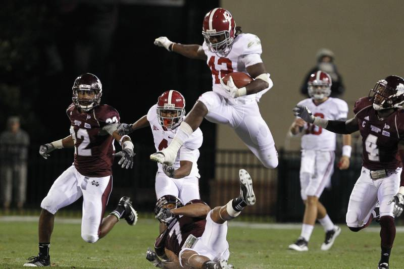 Alabama Football 2012: Get to Know Tide Running Back Eddie Lacy