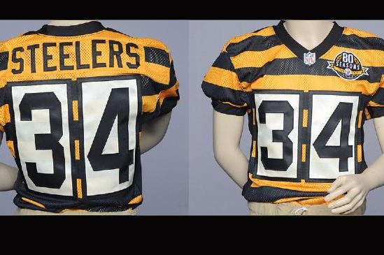 reputable site 38e68 5c497 Steelers 80th Anniversary Jersey: Throwback Uniforms Are ...