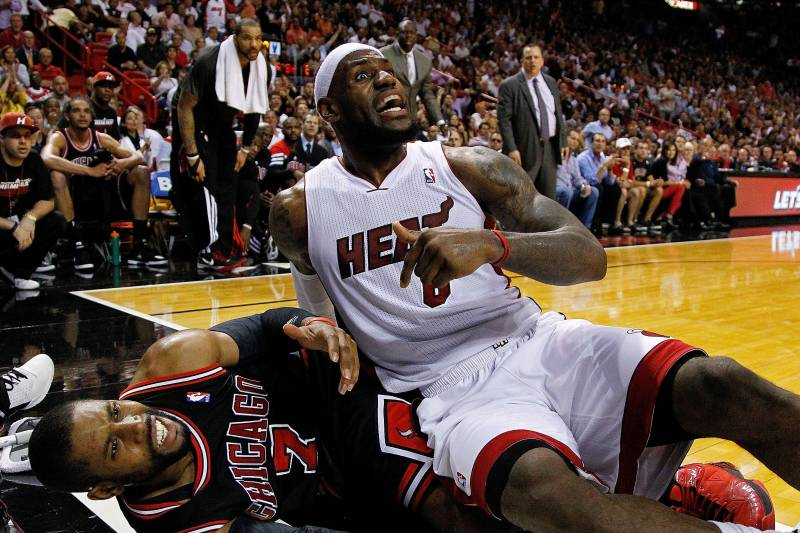 d7297f2470f NBA MVP 2012  Ranking the Biggest Threats to LeBron James