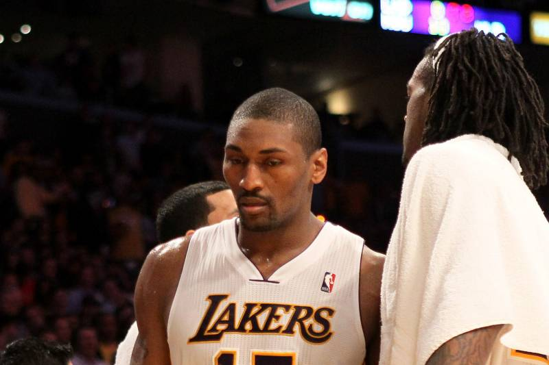 0a5733be0a6 Metta World Peace Ejection  Lakers Star s Past Shouldn t Impact ...