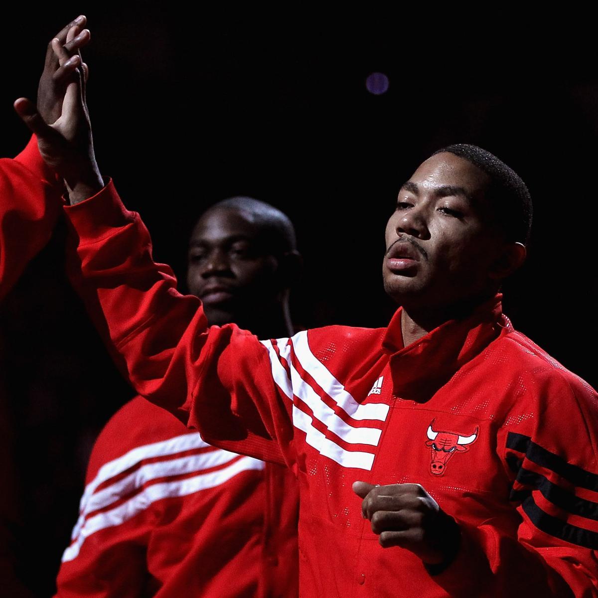 NBA Playoffs 2012: Healthy Derrick Rose Makes Chicago