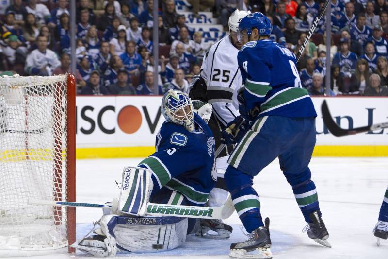 Vancouver Canucks Why Roberto Luongo Is Still The Answer Bleacher