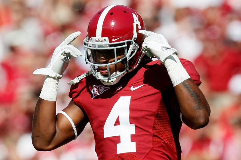 new style 0bd99 f161e Mark Barron to Tampa Bay Bucs: Video Highlights, Scouting ...