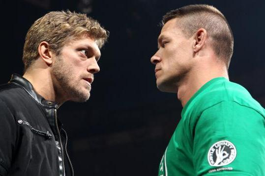 WWE Raw John Cena And Brock Lesnars Contract Signing Results April 23 2012
