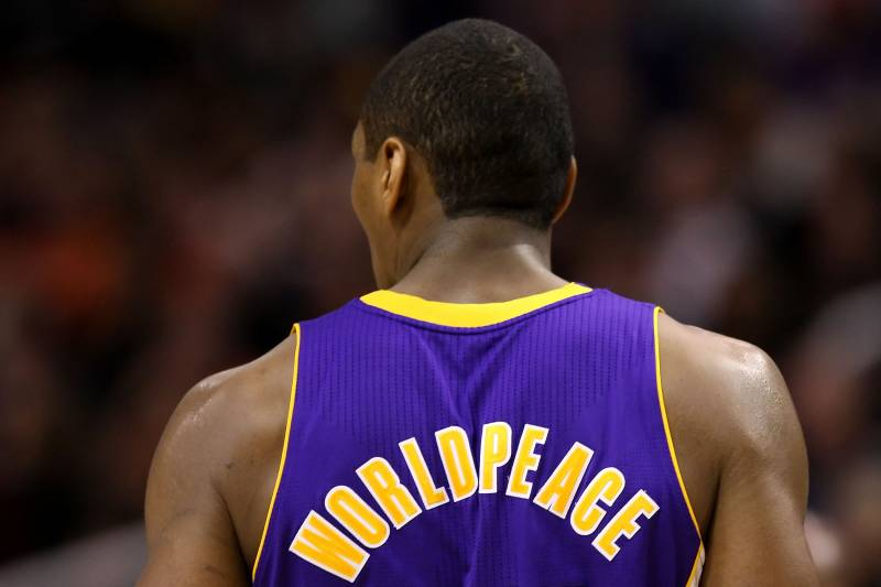 647233dcbff Metta World Peace  Fit for a Strait Jacket