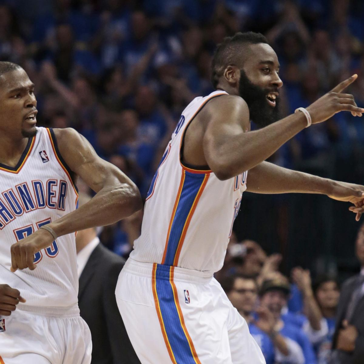 James Harden In Okc: Why James Harden Is The Catalyst For Kevin Durant's NBA