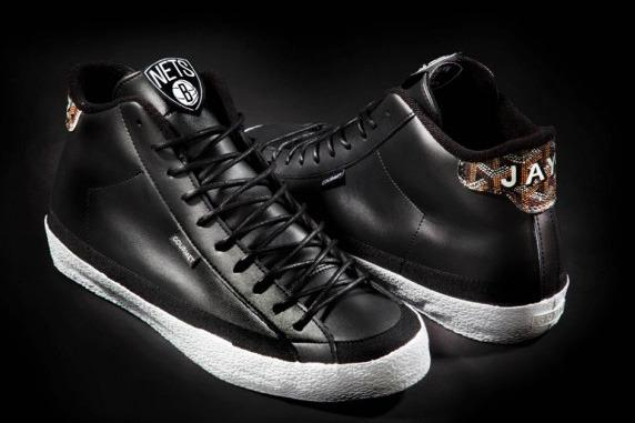 a714f080a1f4 Breaking Down New Gourmet for Jay-Z the 22 L Shoes with Brooklyn Nets Logo